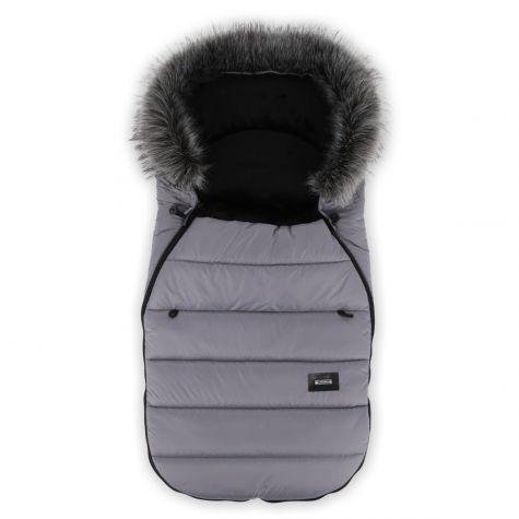 Winterfußsack Kinderwagen Fußsack Kinderfußsack Buggy Babyfußsack small Grau