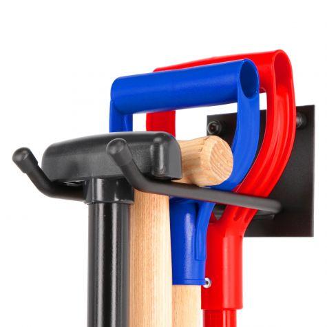Gerätehalter Besenhalter Gartengerätehalter Metall Halterung für Gartengeräte