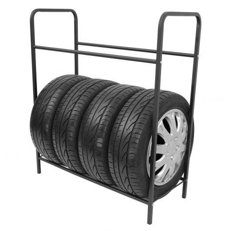 Reifenregal Reifenhalter Felgenbaum Reifenständer Felgenregal für 8 Räder